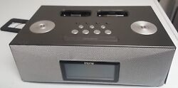 iHome Dual Dock Triple Alarm Clock Radio iPod iPhone Remote Docking Ip88gk