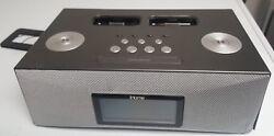 iHome Dual Dock Triple Alarm Clock Radio iPod iPhone Remote Docking Ip88gk