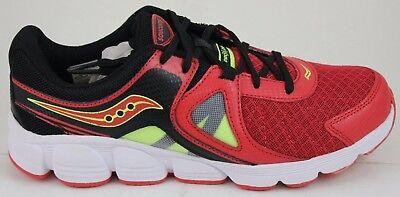 Big School Kids Sneakers (Youth's Saucony Kotaro 3 Sneaker Big Kid Grade School SY55526 Red/Black/Citron)