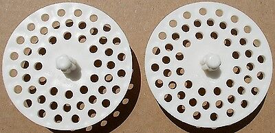 - LOT OF 2 GARBAGE DISPOSAL STRAINER SINK DRAIN SCREEN MADE IN USA - 2  BULK