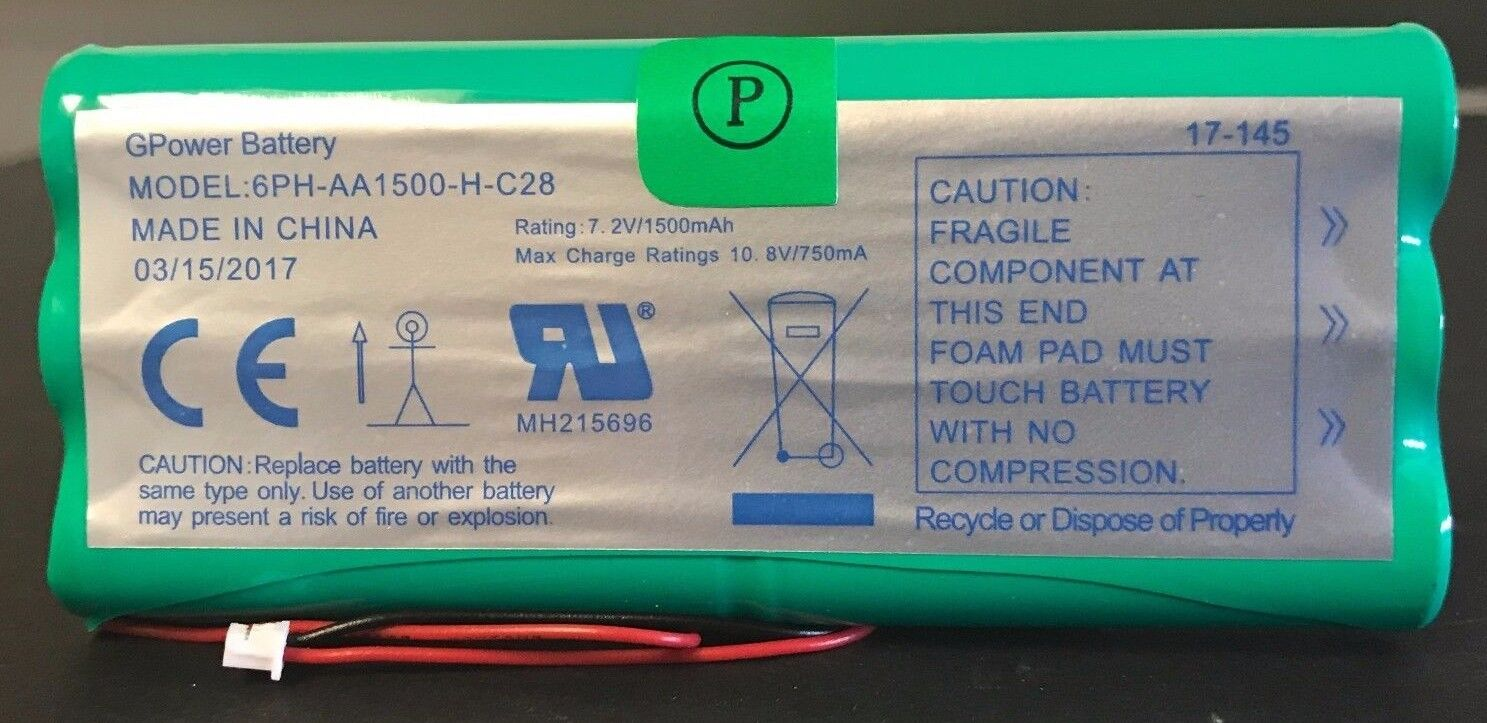 Brand New 6PH-AA 1500-H-C28 DSC 9047 Replacement Battery 7.2