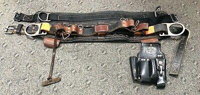Jelco 4d Ring 86868 Climbing Belt Wbashlin Tool Bag Size 25 45 Model 550 1217