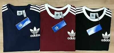 Men's Adidas Original  Short Sleeve Crew Neck T-Shirt 100% Cotton