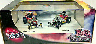 Hot Wheels 100% Collectibles NHRA FUEL ALTEREDS Limited Edition (2) Car Set