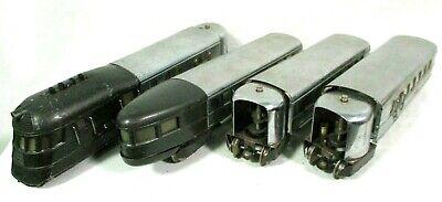 Lionel Flying Yankee Set # 616, Two 617, & 618 - Tested, Runs Prewar Model Train