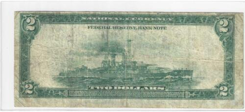 1918 $2 Battleship ..... Boston District