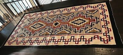 1940's Vintage Navajo Klagetoh Rug In Excellent Condition