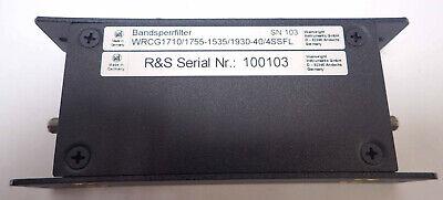 Wainwright Instruments Wrcg17101755-15351930-404ssfl Band Reject Filter