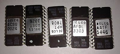 Lot Of 5 2732 Jl2732hs Eprom Pulled From Gm Auto Computers Usa Seller