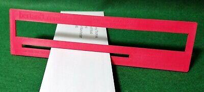 Royal Mail PPI Letter Size Guide Ruler Post Office Postal Price Postage.