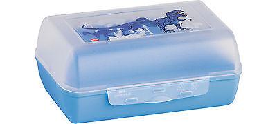 Emsa VARIABOLO Brotbox Vesperbox Pausenbox Brotdose, 16x11x7 cm, DINO Trennwand