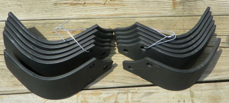 Maschio Tiller Tines Code 01110426 / 0110427 6 each Left and Right Hand Tine
