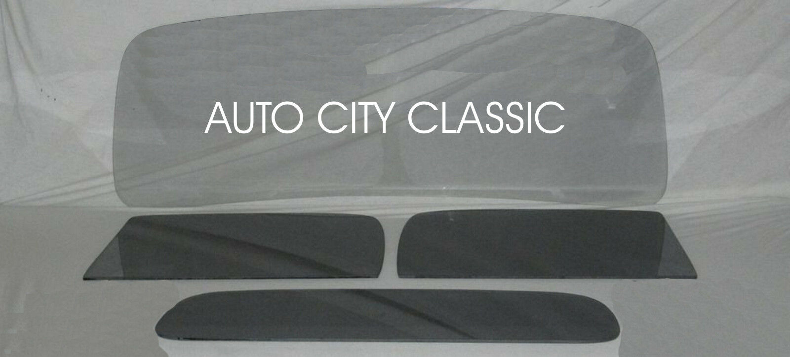 1937 1938 Chevy Pickup Truck Windshield Doors & Rear Back Glass Smoke Grey