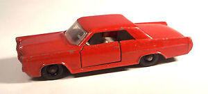 Matchbox Lesney Pontiac Grand Prix Sports Coupe No. 22-C-2 (c)1964 Diecast
