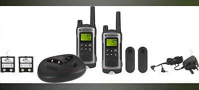 Motorola TLKR T80 Twin Pack  Motorola Walkie Talkies / 2 Way Radio