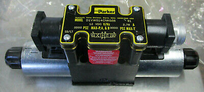 Parker D1vw014cnkg56 Hydraulic Directional Valve 12 Vdc 5000psi 3000psi New Surp