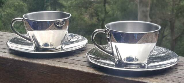 Avanti Tea/Coffee Cup and Saucer set for two | Dinnerware ...