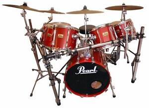 Rare Pearl BLX Series 7 Piece Drum Kit Bayview Pittwater Area Preview