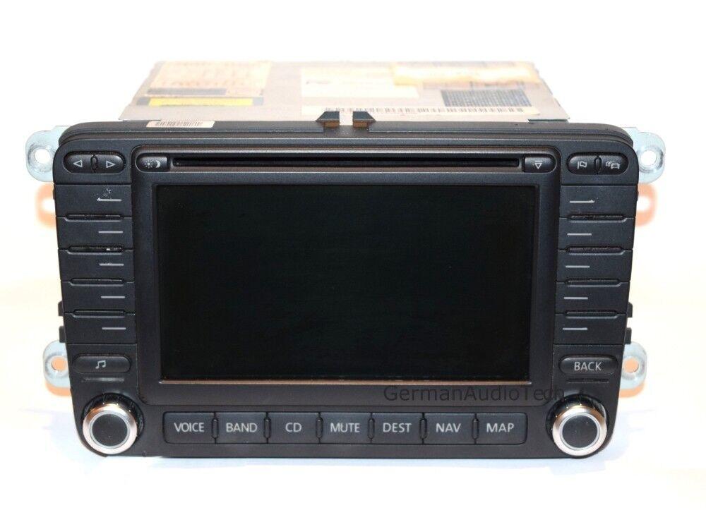 volkswagen vw navigation radio cd player 2005 2011 gti. Black Bedroom Furniture Sets. Home Design Ideas