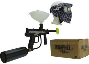 COMPLETE JT E-KAST PAINTBALL STARTER KIT - An Awesome Gift Idea for Anyone Starting the Game!