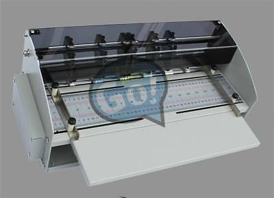 Card Folding Paper Dotted Line Cutting Electric Book Cover Creasing Machine