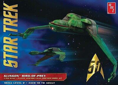 AMT 1:350 Star Trek Klingon Bird of Prey Plastic Model Kit AMT949