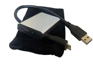mSATA SSD to USB 3.0 Portable Enclosure Case with Cable Templestowe Manningham Area Preview