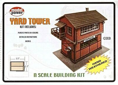 YARD TOWER BUILDING KIT  'N' Scale  Model Power New Sealed 1585