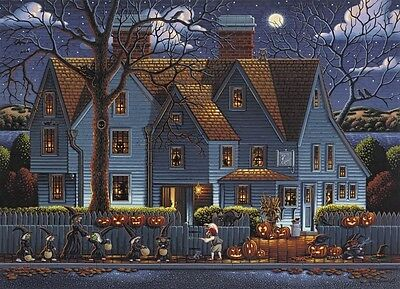 Jigsaw puzzle Seasonal Halloween House of the Seven Gables 1000 piece NEW - Halloween 1000 Piece Puzzle