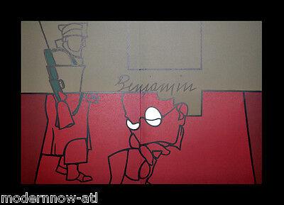 Valerio ADAMI ORIGINAL Lithograph LIMITED 17/150 Vélin d'Arches 38x56cm +FRAMING for sale  Atlanta