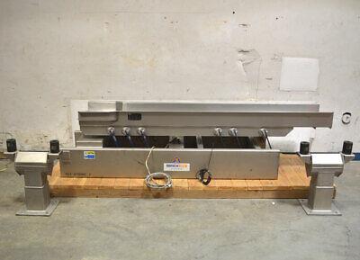 Key Impulse S1025897-1 8-ft Iso-flo Vibratory Conveyor 50hz Stroke7 Stk-in-116