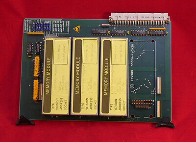 Roche Cobas Chemistry Mira Memory Prom 5121024k Pcb 94-00829 46098 Used