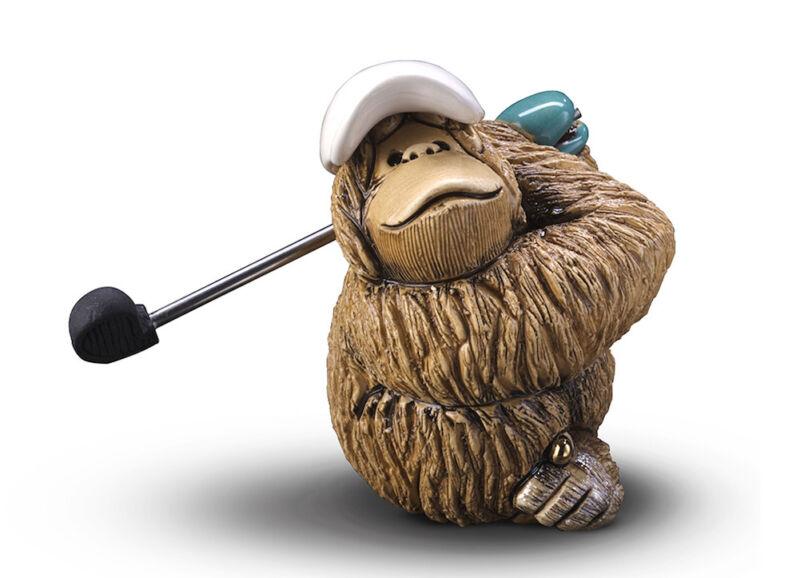 De Rosa - Orangutan Golfer Figurine
