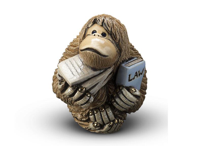De Rosa - Orangutan Lawyer Figurine