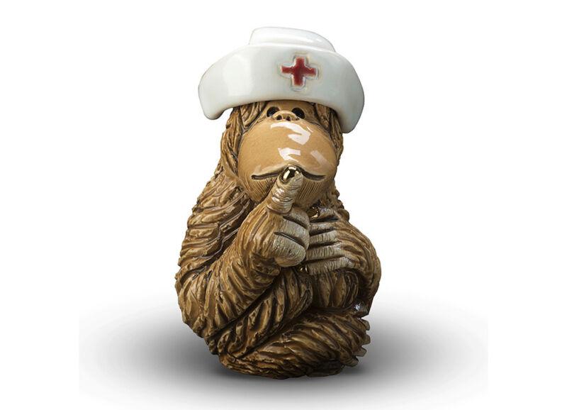 De Rosa - Orangutan Nurse Figurine