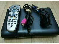 Digital Sky HD  box complete with remote control HDMI cable