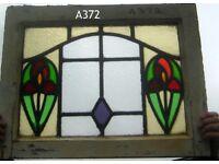 A361 Art Nouveau windows selection.
