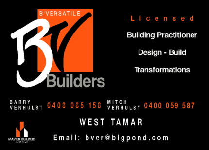Bathrooms, Decks, Verandahs, Carports Licenced Builder