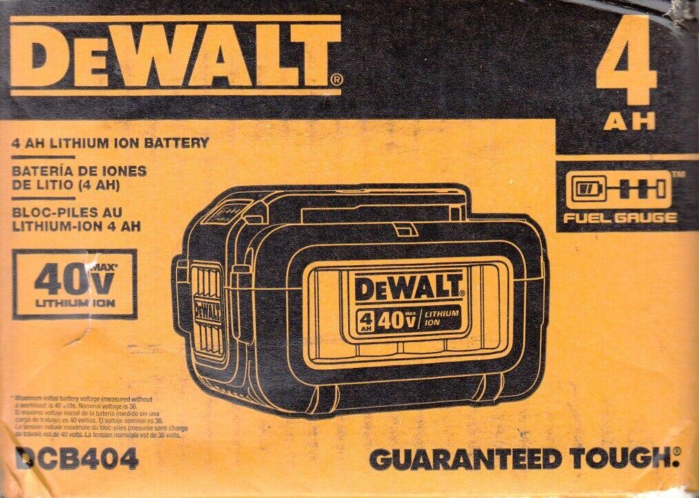 DEWALT DCB404 40V 4AH Battery Pack