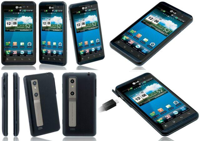 LG Thrill 4G P925 - 8GB - Black Blue (Unlocked) AT&T Smartphone Fair Cosmetics.