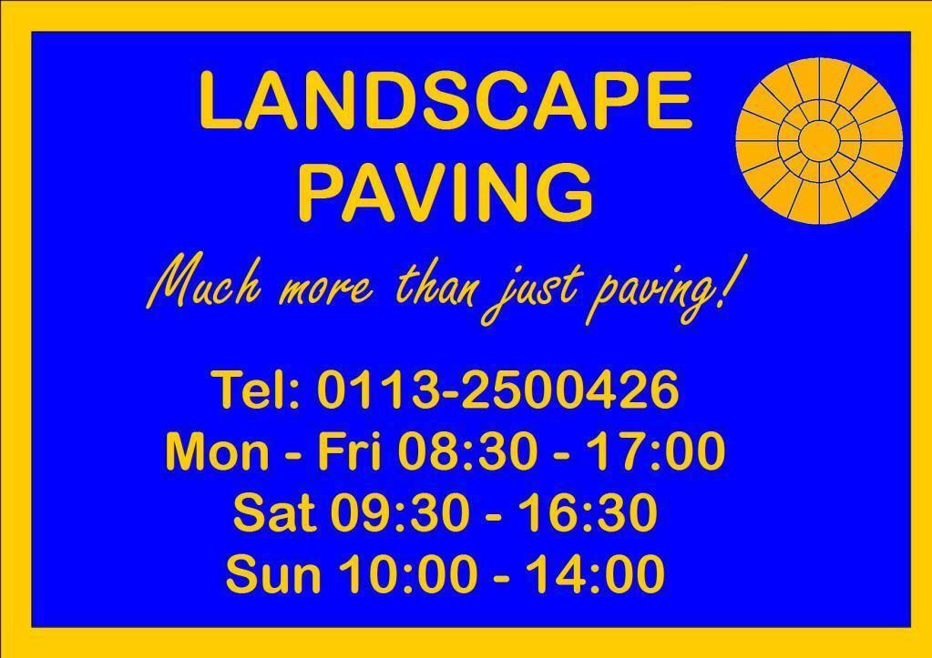 landscape paving