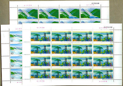 China 2003-21 Three Gorges Yangtze River Electric Power Generate Full Sheet