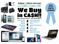 WE BUY ELECTRONICS APPLE MACBOOK RETINA IMAC IPAD AIR MAC MINI CANON SLR MACBOOK PRO OFFICE CLEARING
