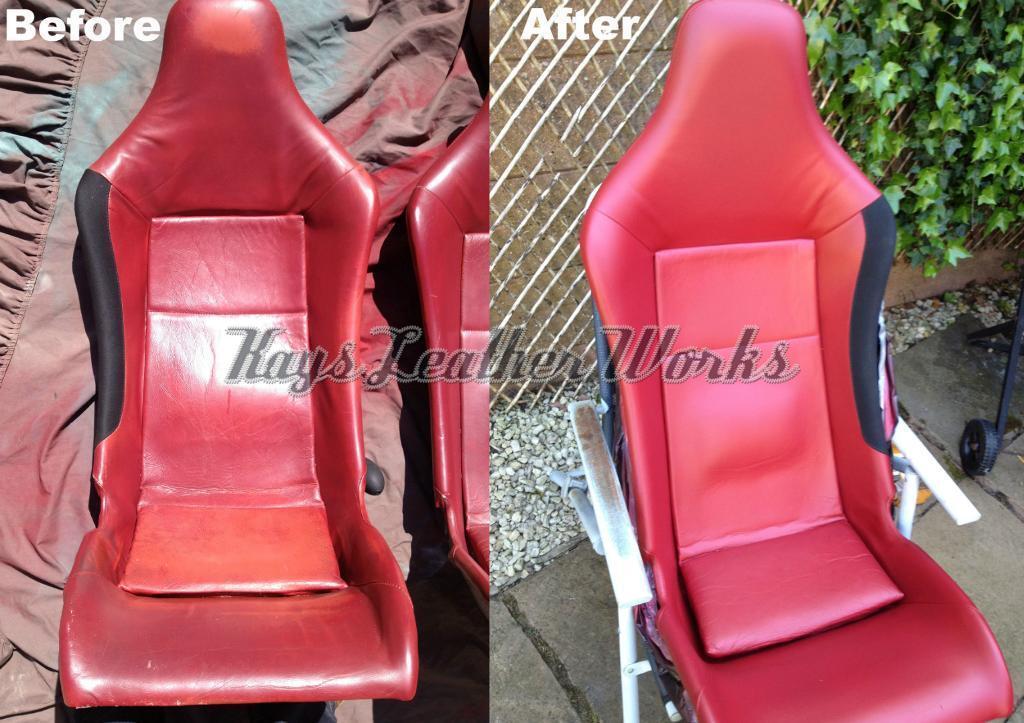 Leather Repair Mobile Car Seat Sofa Connollising Recolour Restoration