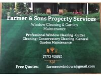 Professional Window Cleaning & Garden Services Countywide