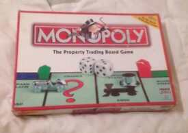 Monopoly Board Game By Parker, Hasbro Games 2003. Complete & Good Condition.