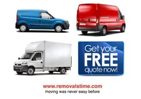 MAN & VAN HOUSE MOVING MOVER BIKE DELIVERY COLLECTION OFFICE REMOVAL PIANO SHIFTING RENT LUTON TRUCK