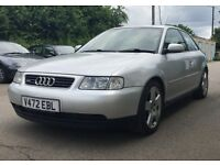 Audi A3 1.8T Quattro in Silver 12 months MOT Very clean example