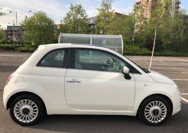 2012 Fiat 500 1.2 Lounge (White)