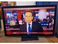 "Panasonic Viera TX-P50VT30B 50"" 3D Plasma TV 1080p with Freeview Freesat HD wifi"